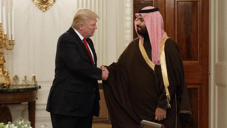 Donald Trump dan Ben Salman