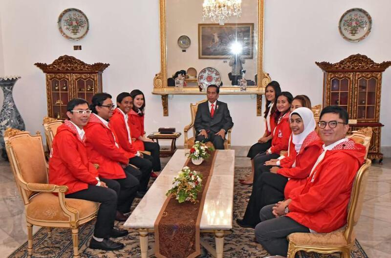Presiden Jokowi Bersama PSI