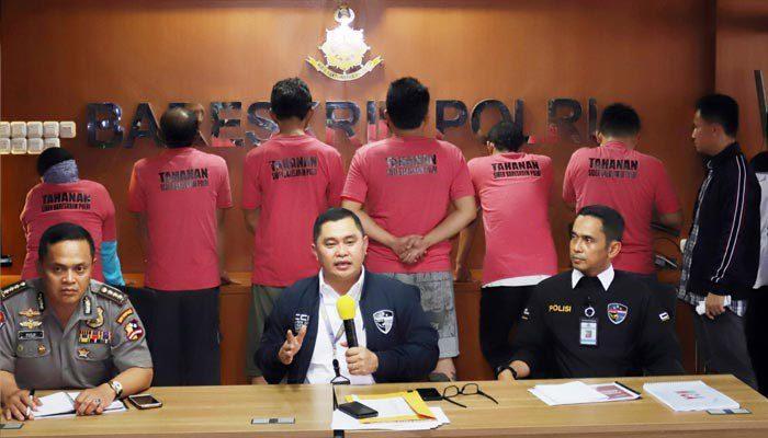 6 Anggota MCA Tertangkap Polisi